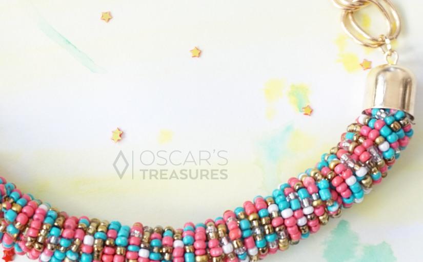 Un collier de perles pour leprintemps